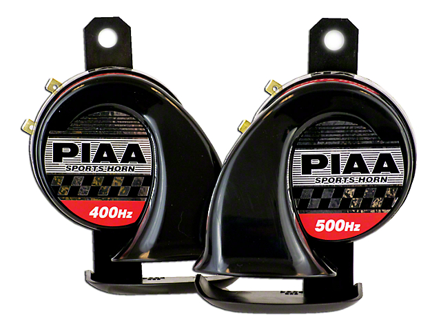 PIAA Automotive Sports Horn - 400/500Hz (87-18 Wrangler YJ, TJ, JK & JL)