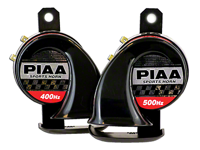 PIAA Automotive Sports Horn - 400/500Hz (87-18 Wrangler YJ, TJ, JK & JL)