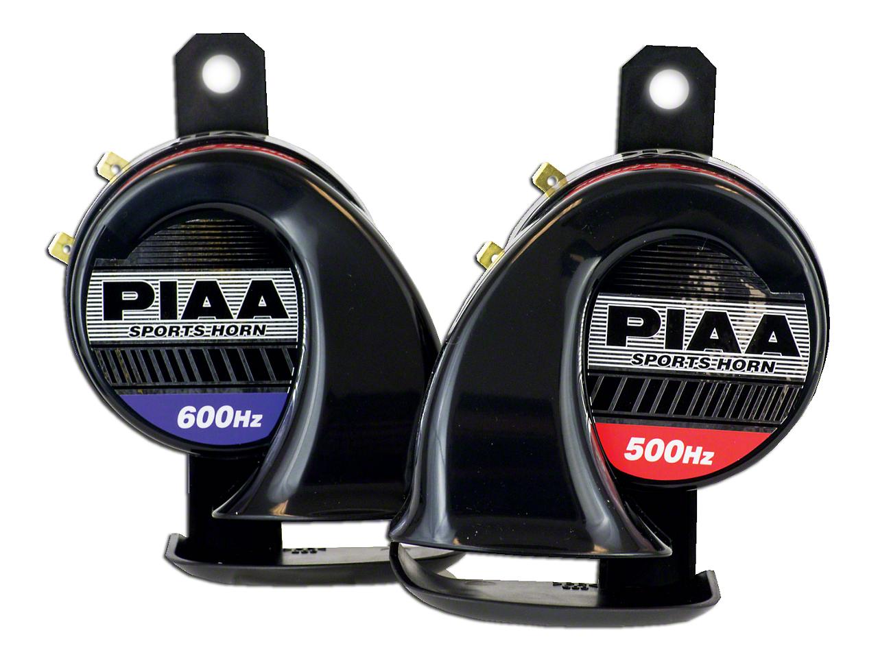 PIAA Automotive Sports Horn - 500/600Hz (87-18 Wrangler YJ, TJ & JK)