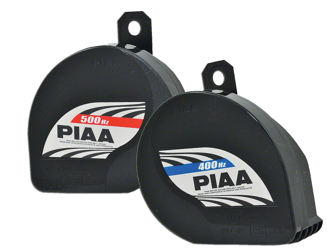 PIAA Automotive Slim Sports Horn - 400/500Hz (87-18 Wrangler YJ, TJ & JK)