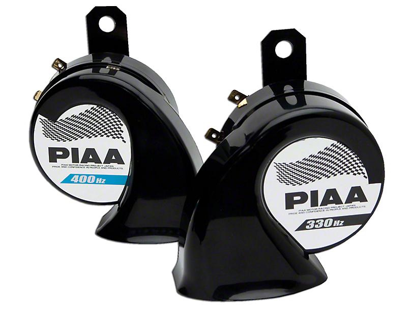 PIAA Automotive Superior Bass Horn - 330/400Hz (87-18 Jeep Wrangler YJ, TJ, JK & JL)