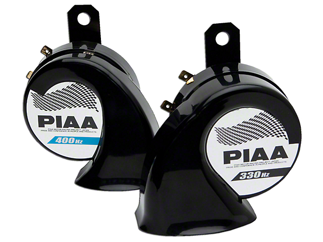PIAA Automotive Superior Bass Horn - 330/400Hz (87-18 Wrangler YJ, TJ, JK & JL)
