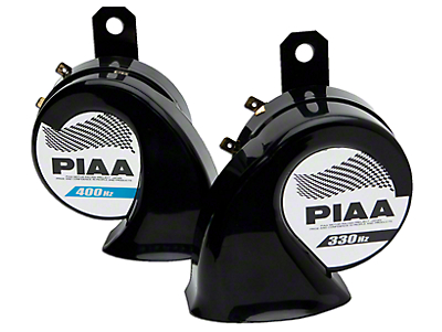 PIAA Automotive Superior Bass Horn - 330/400Hz (87-18 Jeep Wrangler YJ, TJ, JK & JL)