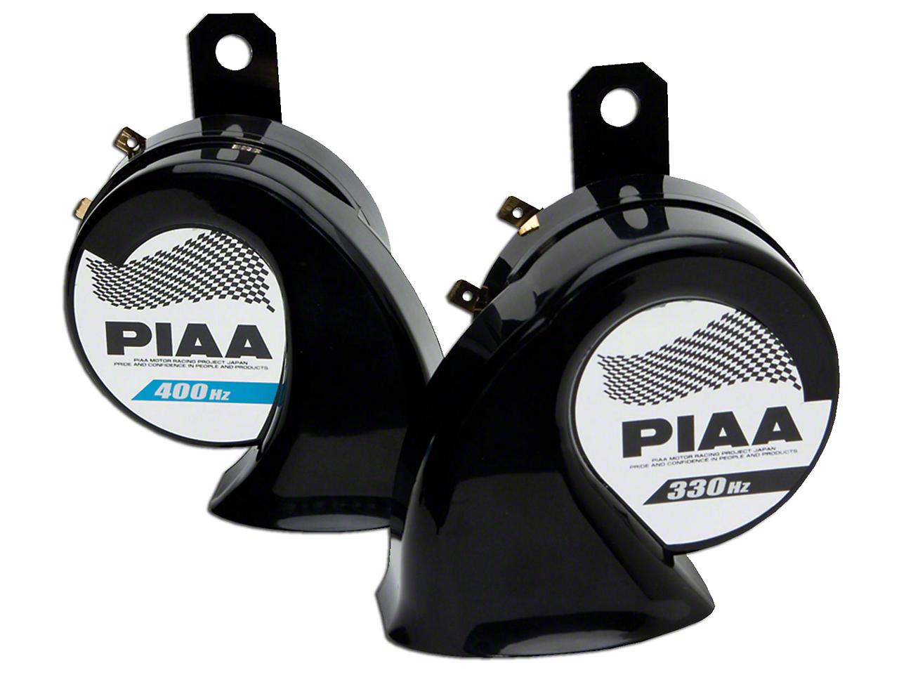 PIAA Automotive Superior Bass Horn - 330/400Hz (87-18 Wrangler YJ, TJ & JK)