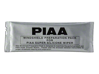 PIAA Silicone Window Cleaner Prep Pack