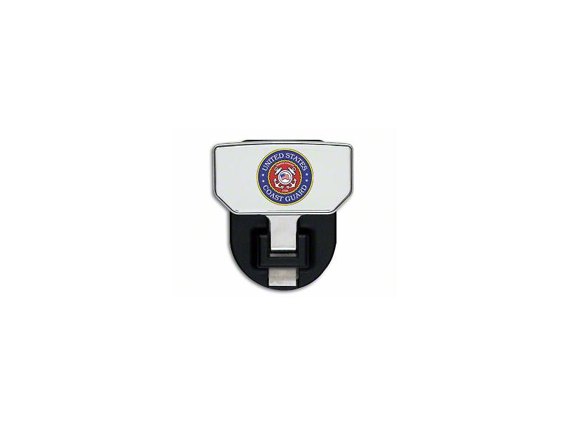 Carr HD Hitch Step w/ US Coast Guard Logo (87-20 Jeep Wrangler YJ, TJ, JK & JL)
