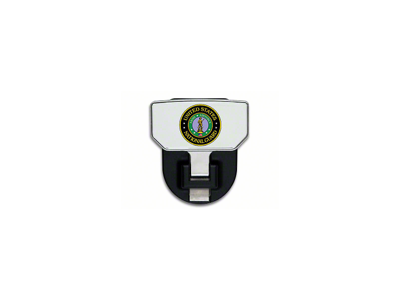 Carr HD Hitch Step w/ US National Guard Logo (Universal Fitment)