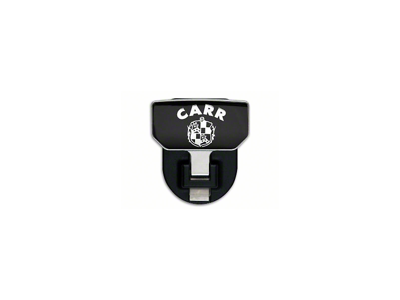 Carr HD Hitch Step w/ CARR Logo (87-19 Jeep Wrangler YJ, TJ, JK & JL)