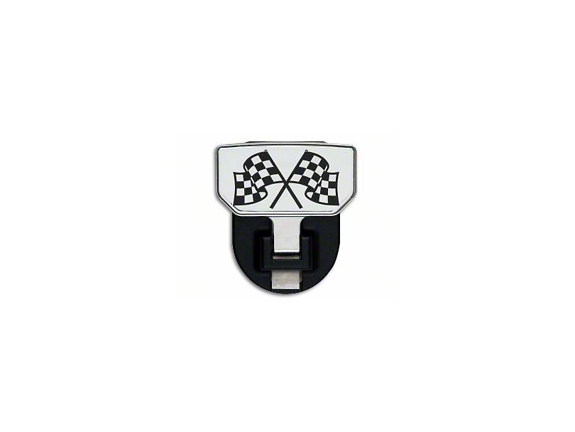 Carr HD Hitch Step w/ Checkered Flag Logo (87-19 Jeep Wrangler YJ, TJ, JK & JL)