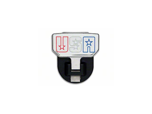 Carr HD Hitch Step w/ USA Logo (87-19 Jeep Wrangler YJ, TJ, JK & JL)