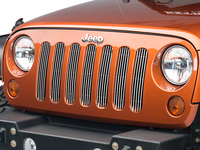 Smittybilt Billet Grille - Overlay (07-18 Jeep Wrangler JK)