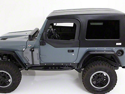 American Fastback Recon Hard Top - Primer (97-06 Jeep Wrangler TJ, Excluding Unlimited)