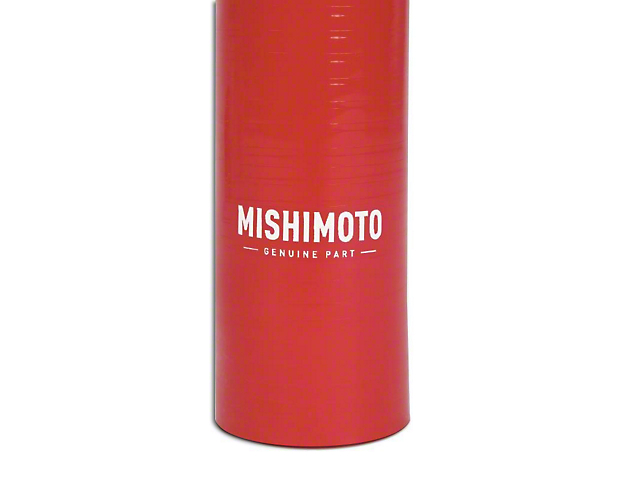 Mishimoto Silicone Radiator Hose Kit; Red (07-11 3.8L Jeep Wrangler JK)