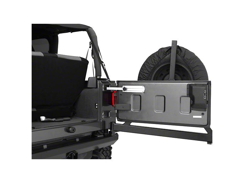 Omix-ADA Billet Aluminum Tailgate Stopper (87-06 Jeep Wrangler YJ & TJ)