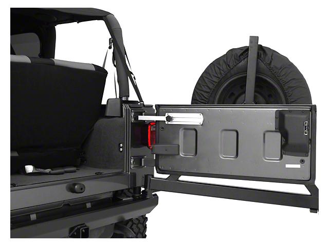 Billet Aluminum Tailgate Stopper (87-06 Jeep Wrangler YJ & TJ)