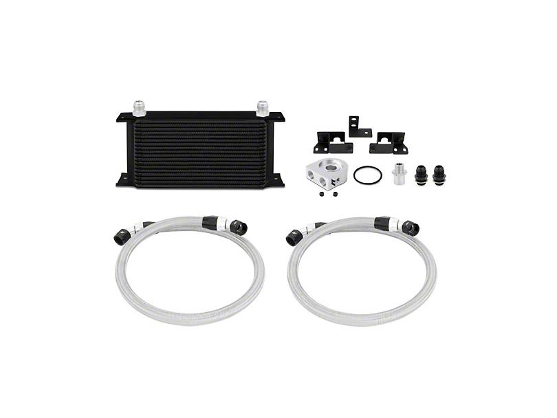 Mishimoto Oil Cooler Kit; Black (07-11 3.8L Jeep Wrangler JK)