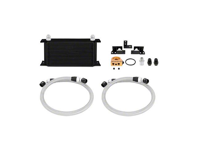 Mishimoto Thermostatic Oil Cooler Kit - Black (07-11 3.8L Jeep Wrangler JK)