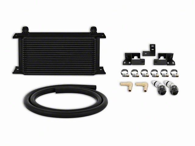 Mishimoto Transmission Cooler Kit; Black (07-11 3.8L Jeep Wrangler JK)