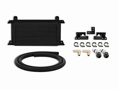 Mishimoto Transmission Cooler Kit - Black (07-11 3.8L Wrangler JK)