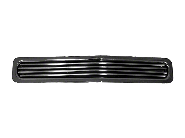 Rugged Ridge Billet Style Grille Inserts; Chrome (87-95 Jeep Wrangler YJ)