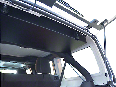 GraBars Insert for Concealed Overhead Locking Storage Box (07-18 Jeep Wrangler JK)