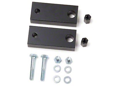 Zone Offroad 1 in. Motor Mount Lift (87-06 Jeep Wrangler YJ & TJ)