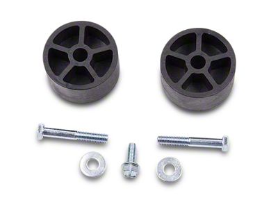 Jeep Wrangler Front and Rear Rustys Off-Road 1.75-inch Coil Spring Spacer Set JK