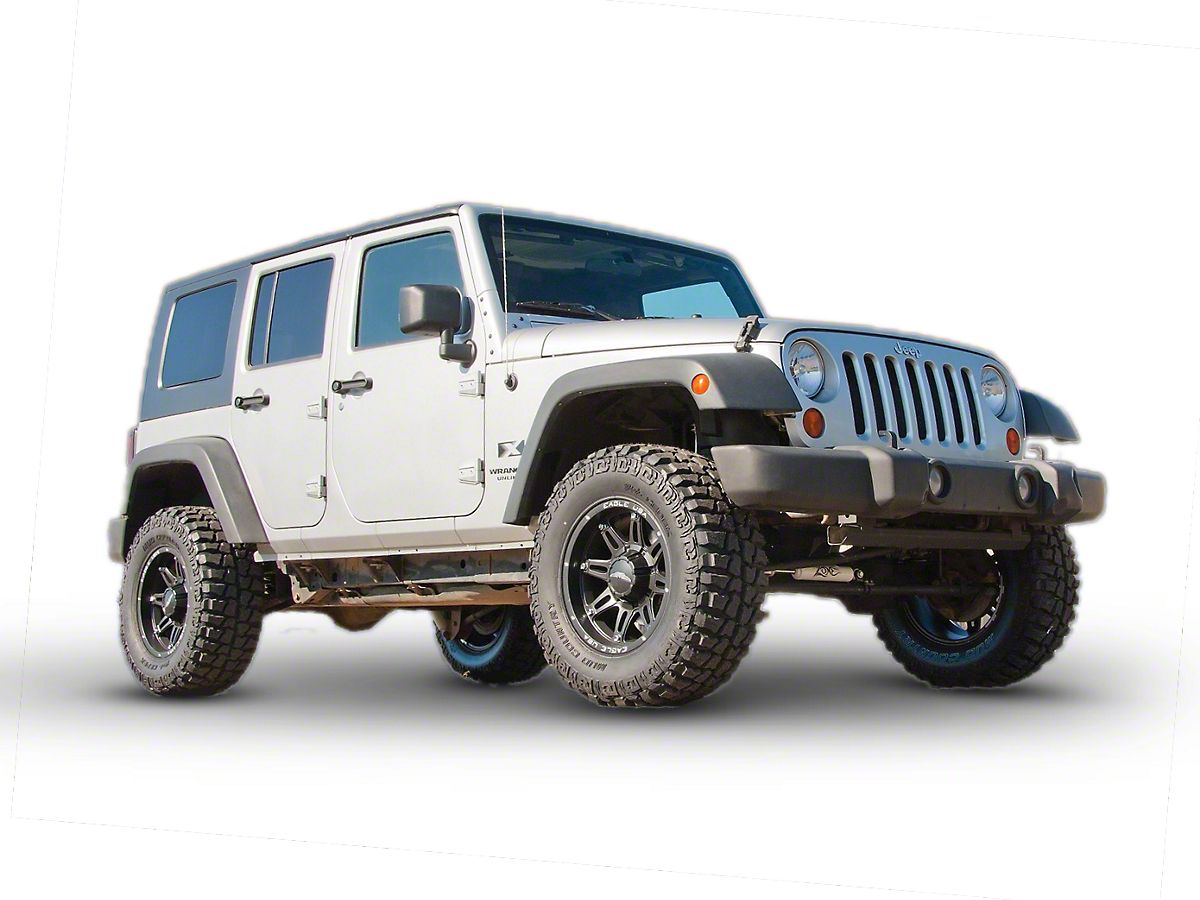 Lifted Jeep Wrangler >> Zone Offroad 2 In Body Lift 07 18 Jeep Wrangler Jk
