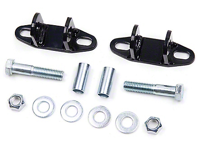 Zone Offroad Bar Pin Eliminator Kit - Pair (97-06 Wrangler TJ)
