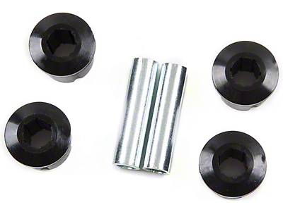 Zone Offroad Leaf Spring Bushing & Sleeve Kit (87-95 Jeep Wrangler YJ)
