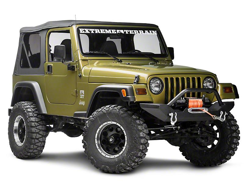 Rugged Ridge 6-Piece Billet Stone Guard Set (97-06 Jeep Wrangler TJ)