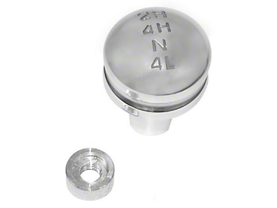 Rugged Ridge Billet Transfer Case Knob (87-95 Jeep Wrangler YJ)