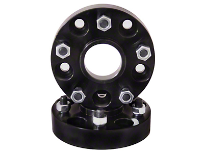 Rugged Ridge 1.375 in. Wheel Adapters - 5x4.5 to 5x5.5 (87-06 Jeep Wrangler YJ & TJ)