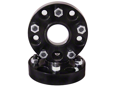 Rugged Ridge Black 1.5 in. Wheel Spacer 5x4.5 (87-06 Wrangler YJ & TJ)