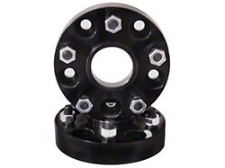 Rugged Ridge 1.5 in. Black Wheel Spacers (87-06 Jeep Wrangler YJ & TJ)