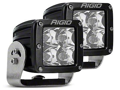 Rigid Industries D-Series HD LED Cube Lights - Spot Beam - Pair