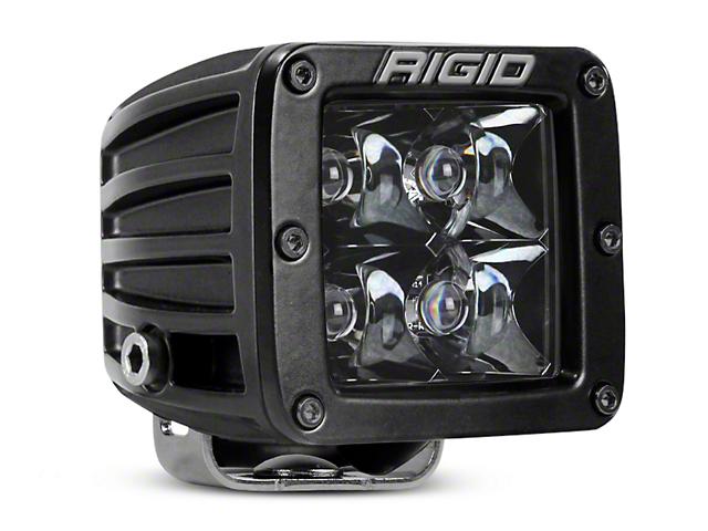 Rigid Industries D-Series Midnight Edition LED Cube Light - Spot Beam