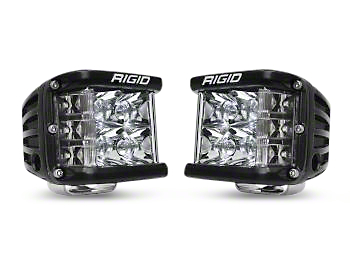 Rigid Industries D-SS Side Shooter LED Cube Lights - Spot Beam - Pair