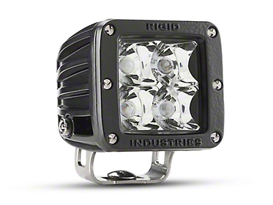 Rigid Industries E-Mark Dually LED Cube Light - Spot Beam