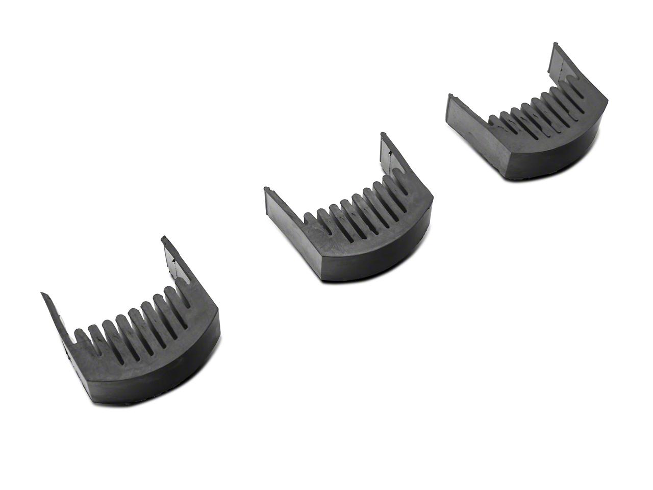 Rigid Industries E/RDS-Series LED Light Bar Resonance Damper (87-18 Jeep Wrangler YJ, TJ, JK & JL)