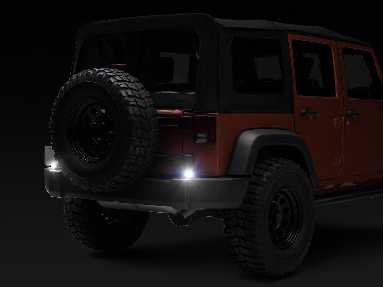 Rigid Industries Ignite Backup Light Kit (87-18 Jeep Wrangler YJ, TJ, JK & JL)