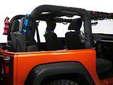 Rugged Ridge Black 9 Piece Interior Roll Bar Trim Kit (07-18 Jeep Wrangler JK)