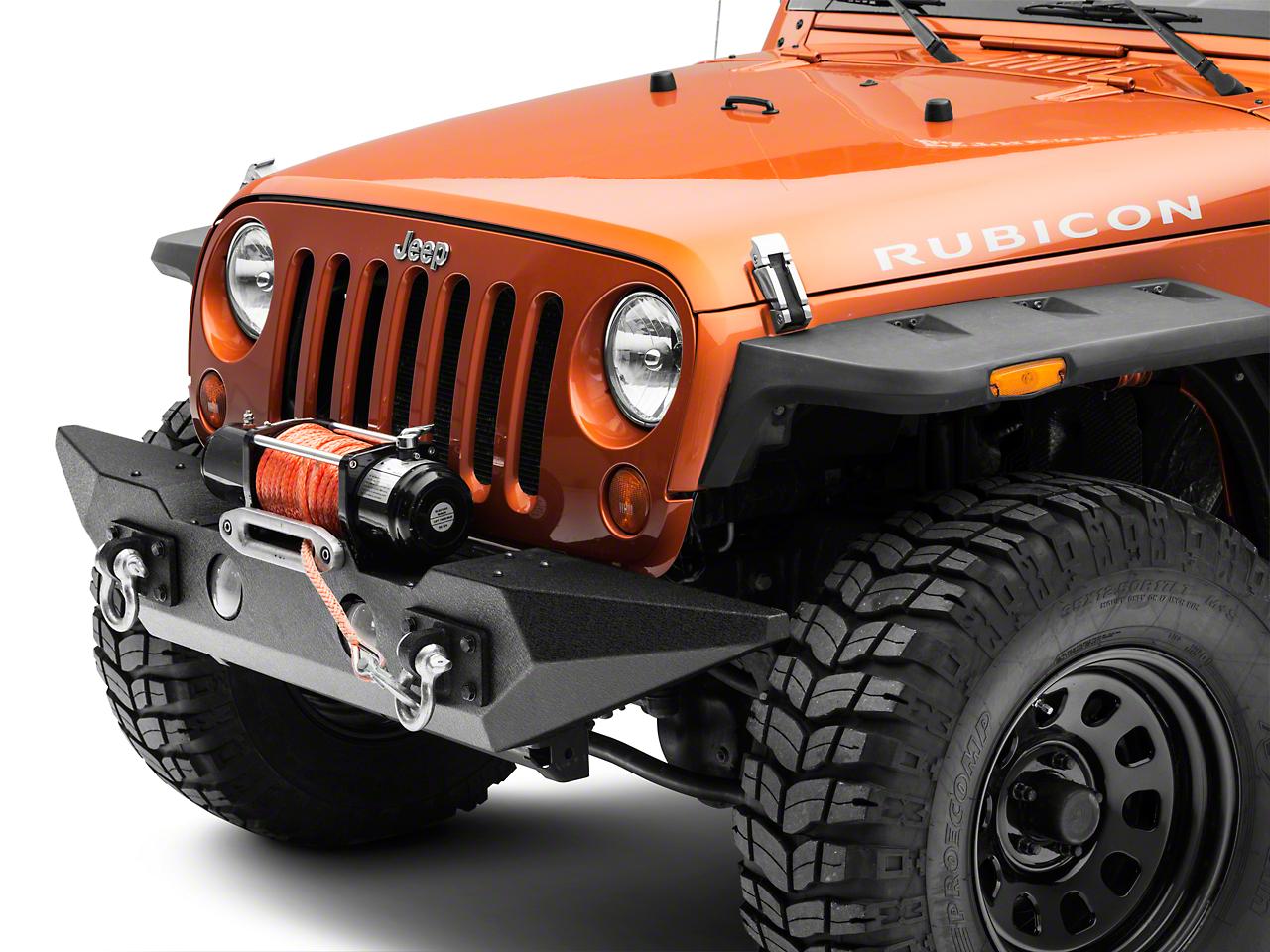 Rugged Ridge Spartan Front Bumper w/ Standard Ends w/o Over Rider (07-18 Jeep Wrangler JK)
