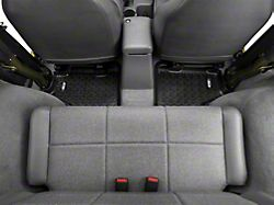 Rugged Ridge All-Terrain Rear Floor Mats - Black (97-06 Jeep Wrangler TJ)
