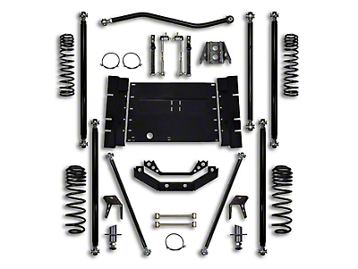 Rock Krawler 3.5 in. Off-Road Pro Long Arm Suspension Lift Kit (04-06 Wrangler TJ Unlimited)