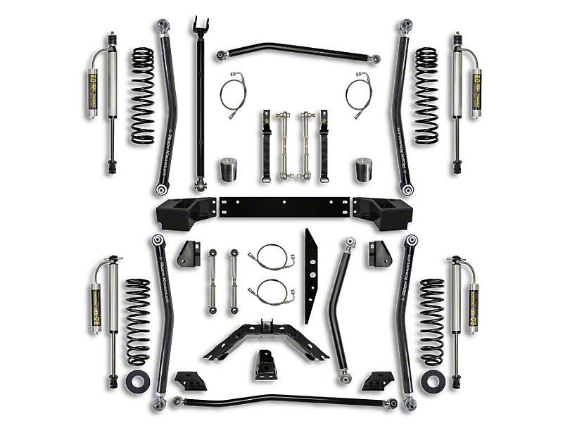 rock krawler jeep wrangler 3 5 in  x-factor long arm suspension lift kit