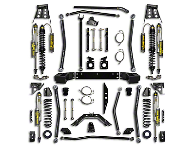 Rock Krawler 5.5 in. Trail Gunner Front Coil-Over Upgrade (07-18 Wrangler JK 4 Door)