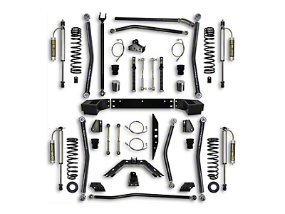 Rock Krawler 5.5 in. X-Factor Long Arm Suspension Lift Kit - Stage 2 (07-18 Wrangler JK 4 Door)