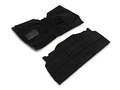 Rugged Ridge Deluxe Complete Carpet Kit - Black (87-95 Wrangler YJ)