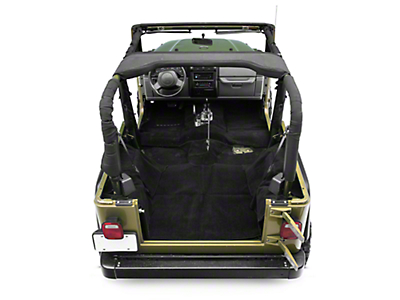 Rugged Ridge Deluxe Complete Carpet Kit - Black (97-06 Wrangler TJ)